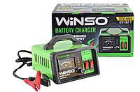 Зарядное устройство WINSO АКБ 6-12В. максимальнй ток подз. 10А, максимальная емкость 100Ah для аккумулятора авто