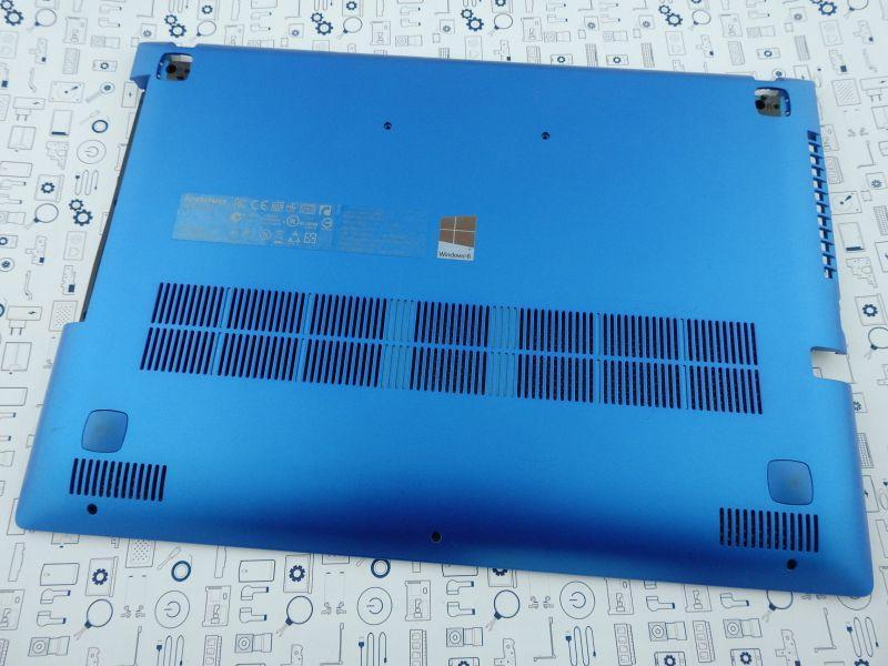 New. Нижний корпус Lenovo Z400 синий 90202305