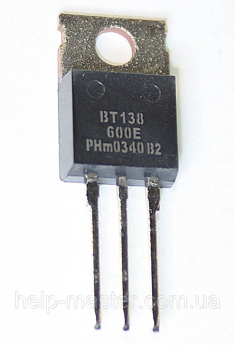 Cимистор BT138-600E (TO-220AB)