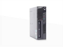 Системный блок Lenovo  Lenovo ThinkCentre M90 USFF -Pentium-G6950-2.8GHz-2Gb-DDR3-HDD-320Gb-DVD-RW-7- Б/У