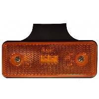 LED Ліхтар габаритний L1035-B  2LED (помаранчевий) прямокутний корпус  0.25W (Poland)