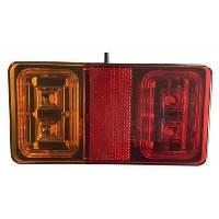 LED Ліхтар задній L2295 16LED(червоний-помаранчевий) прямокутний корпус (Poland)