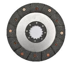 Диск гальмівний клепаний нового зразка 16 шліців МТЗ 85-3502040 (JFD)