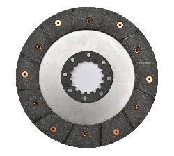 Диск гальмівний клепаний нового зразка 16 шліців МТЗ 85-3502040 (JFD), фото 2
