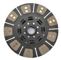 Диск сцепления ведомый МТЗ 2522-1601130-А (сегментный с металлокерамич накладками) (МТЗ-2522,) (JFD)