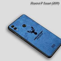 Силиконовый чехол DEER для Huawei P Smart (2019) цвет Синий, фото 1