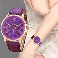 Часы женские Geneva Charm фиолетовые наручные