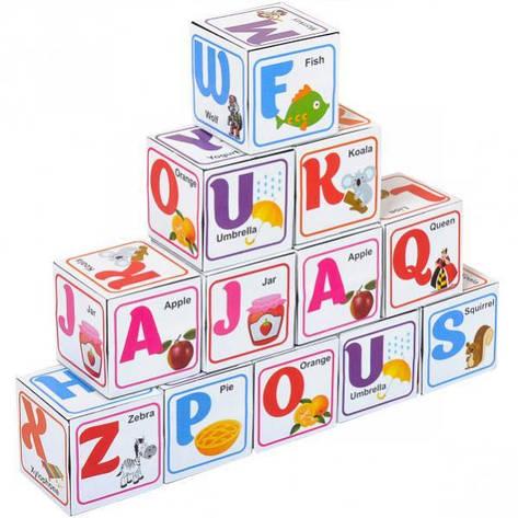 Кубики английские «Азбука»   КАА  , фото 2