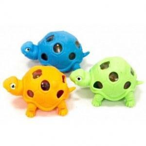Резиновая игрушка-антистресс черепаха с орбизом, фото 2