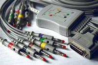 Кабель на 10 электродов на электрокардиографы ЮКАРД-100, ЮКАРД-200, ЮТАС (UTAS)