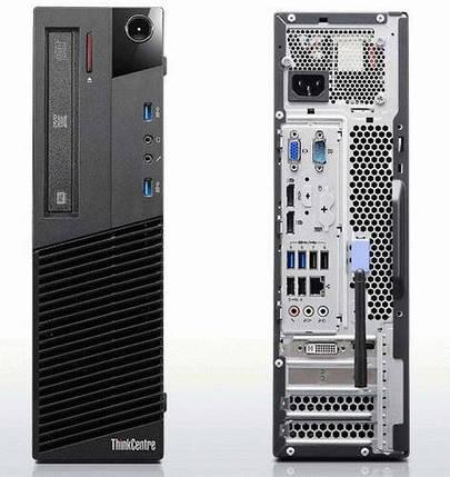 Системный блок Lenovo m83 SFF-Intel Core-i3-4130-3,4GHz-4Gb-DDR3-HDD-500GB-DVD-RW-W7P- Б/У, фото 2