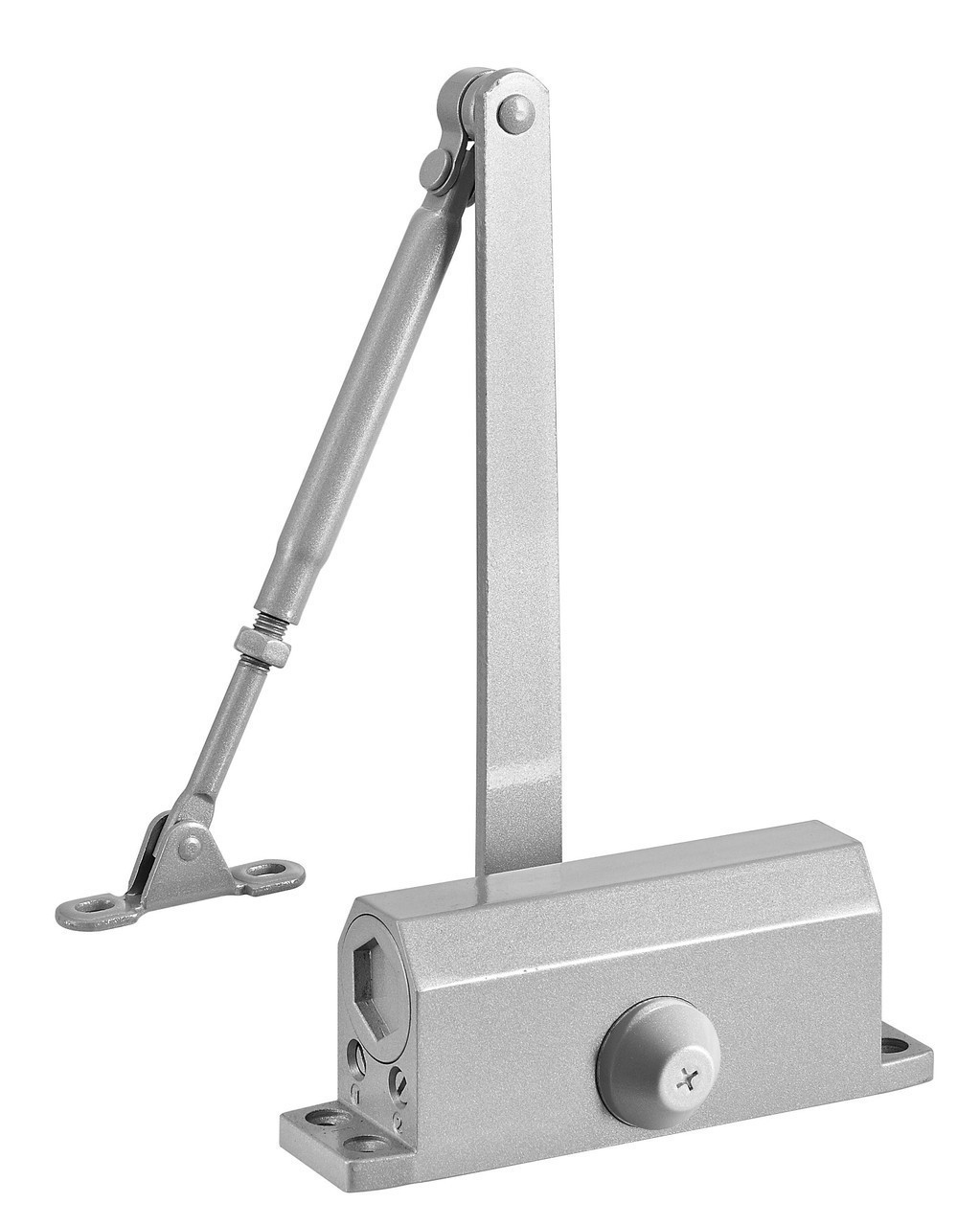 Доводчик дверной DT No.5 алюминиевый 80-120 кгс
