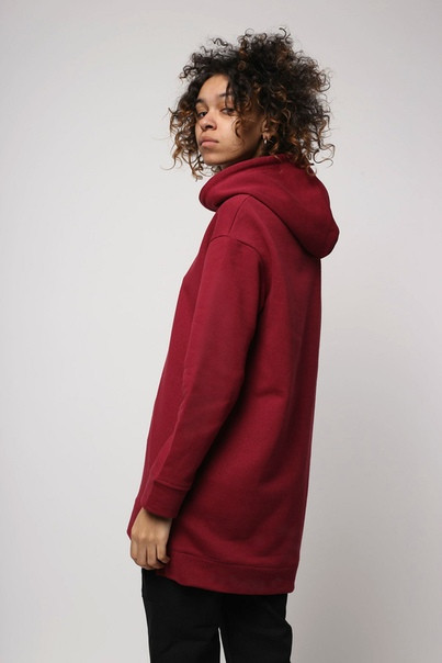 Худи женское бордовое Шива (Sheeva) от бренда ТУР размер S, M,L,XL