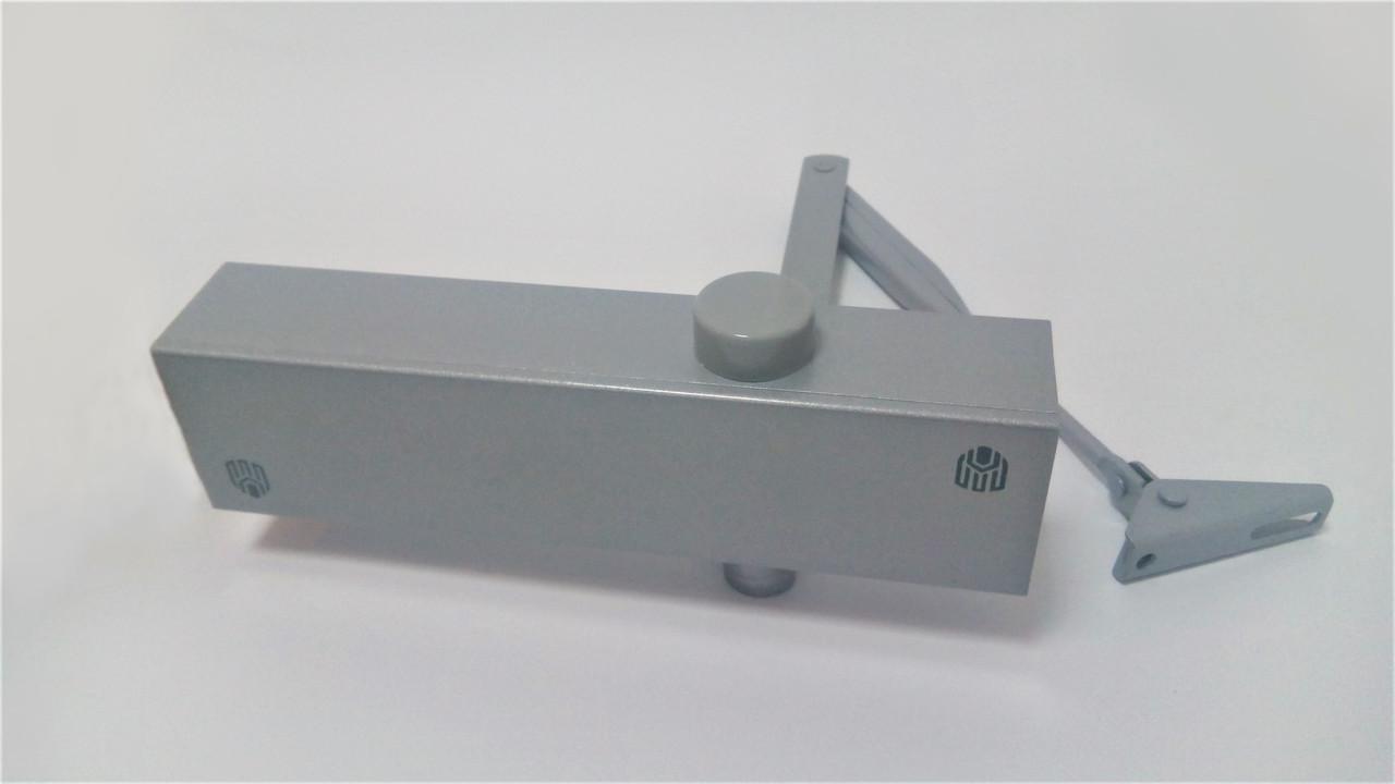 Доводчик дверной алюминиевый 80-120 кг DT