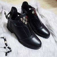 Черевики жіночі чорні. Тільки 40,41 розмір! 41р