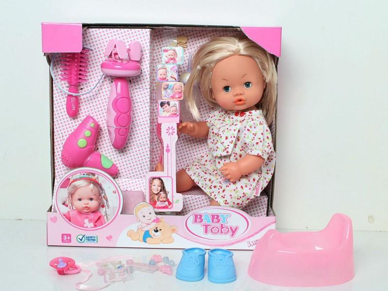 Кукла набор парикмахерская, интерактивный с набором инструментов говорит по русски, фото 1