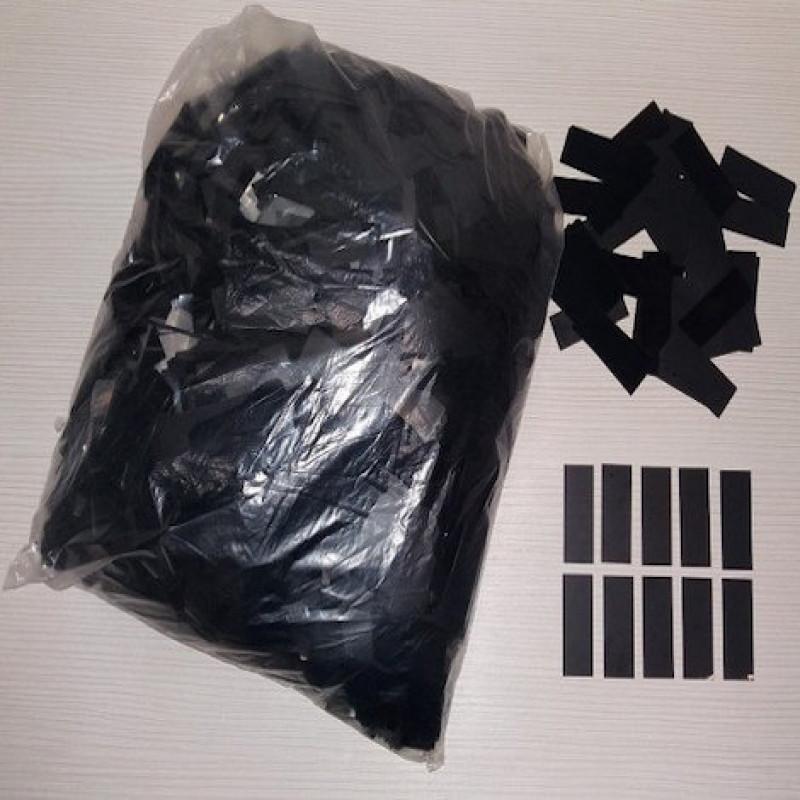 Конфетти Метафан, Черный, 500 гр