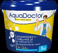 AquaDoctor Хлор длительного действия 3-в-1 (табл. 200г) 5кг