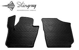 Передние резиновые коврики Seat Ibiza 2008- (2 шт) Stingray 1024312