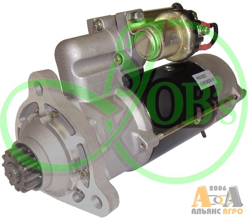 123708306 Стартер редукторный 12В 4,2 кВт (Magirus-Deutz) (ТМ Jubana)