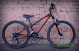 "Велосипед 24"" Kellys Kiter 50 Black Red"