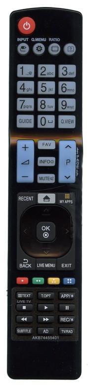 Пульт LG AKB74455401  (LCD TV) SMART   (CE)