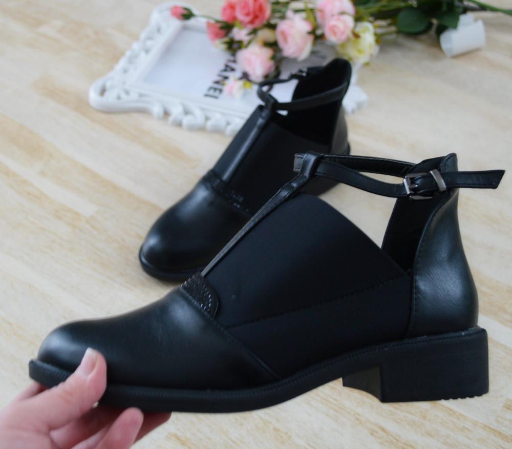 Туфлі жіночі чорні екошкіра 39р