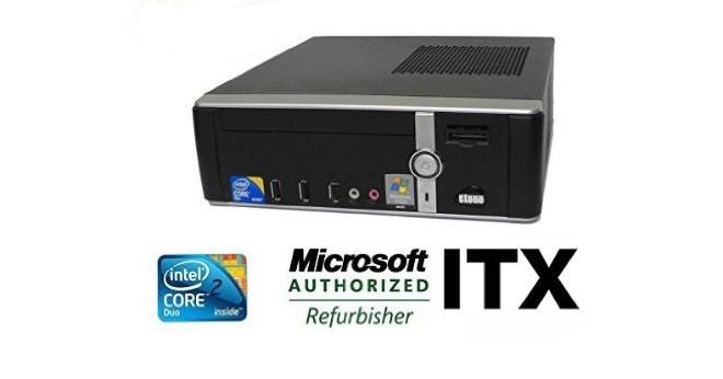 Системный блок STONE SYSTEM-256 USFF-C2D-E7400-2.8GHz-2Gb-DDR2-HDD-160Gb-DVD-RW- Б/У