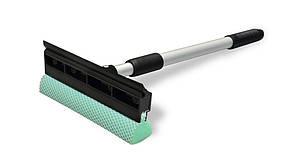 Губка с резинкой Technics для стекла с телескопической ручкой 33 - 46 см (52-378)
