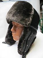 Зимняя мужская шапка ушанка
