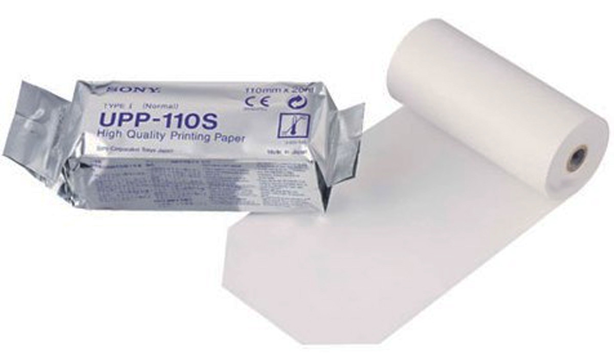 Бумага для УЗИ видеопринтера SonyUPP-110S, 110 мм х 20м (рул.)