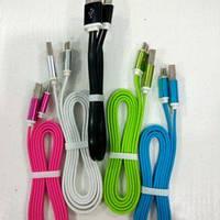 Шнур microUSB-USB M14 (1.2 м) в цветах