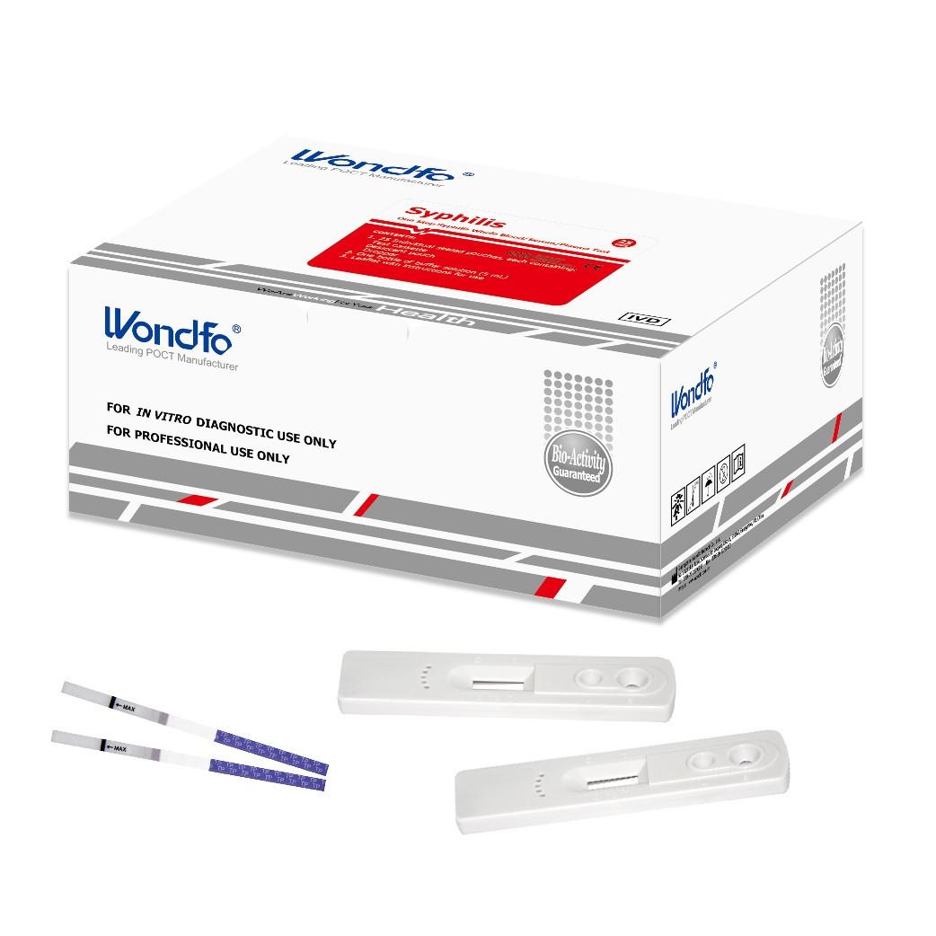 Тест для выявления сифилиса Syphilis - W34-C4P - по предоплате