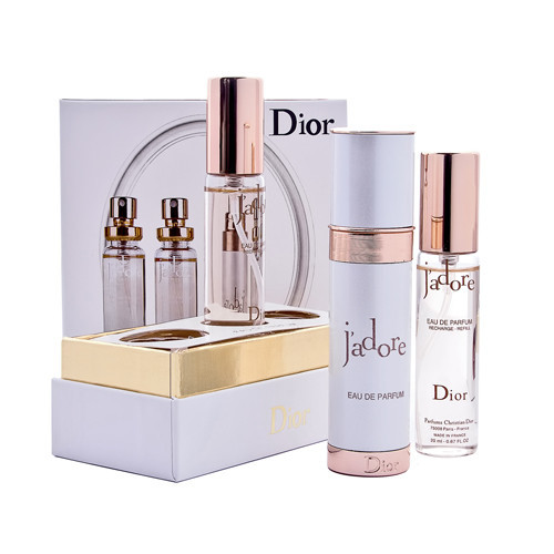Набор Christian Dior Jadore white 3 *20 мл