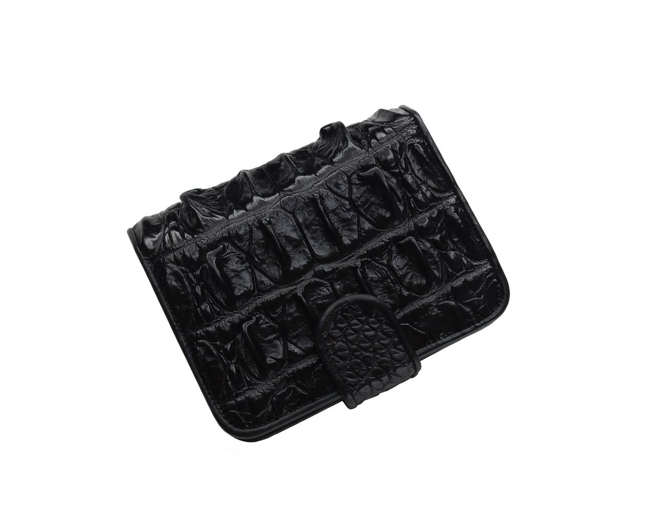 Кошелек из кожи крокодила Ekzotic Leather Черный (cw 102)
