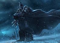 Картина GeekLand World of Warcraft Мир Военного Ремесла фан арт 60х40см WW.09.064