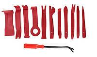 Профессиональный набор инструментов для снятия обшивки (облицовки) авто 12 шт.