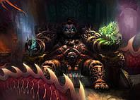 Картина GeekLand World of Warcraft Мир Военного Ремесла фан арт 60х40см WW.09.065