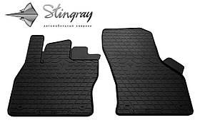 Передние резиновые коврики Seat Leon III 2012- (2 шт) Stingray 1020192