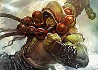 Картина GeekLand World of Warcraft Мир Военного Ремесла фан арт 60х40см WW.09.076