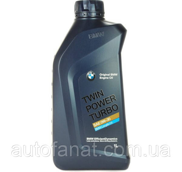 Моторное масло BMW Twinpower Turbo Longlife-04 0W-30 1L (83212365929)