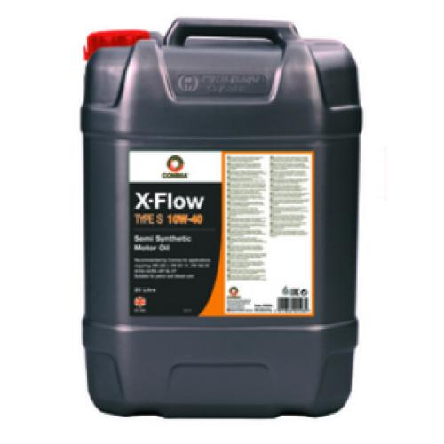 Масло моторное X-FLOW S 10W40 SEMI. 20L COMMA