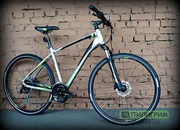 """Велосипед 28"""" Merida Crossway 100 Silk Titan S (47см)"""