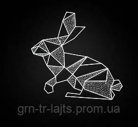 Пасхальный кролик ЯУ светодиодный 1,5м