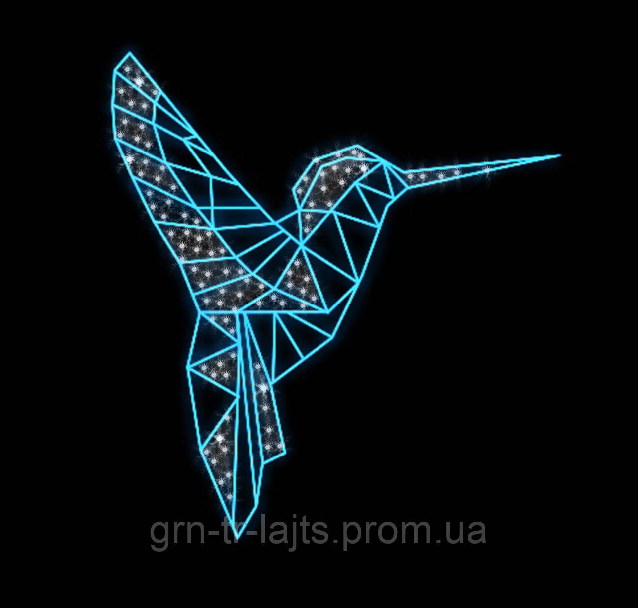 Колибри ЯУ фигура светодиодная 1,5м