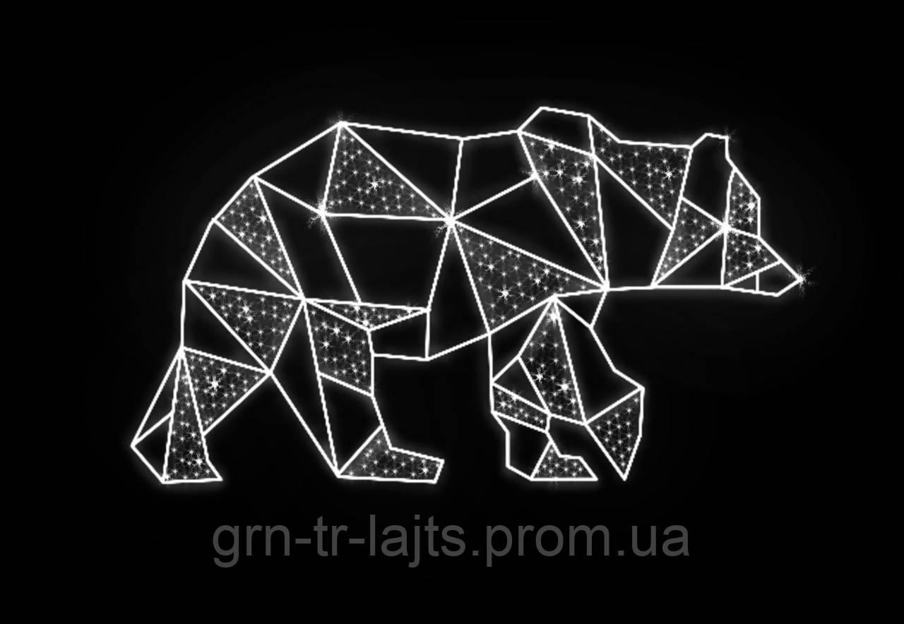 Медведь ЯУ светодиодный 2м