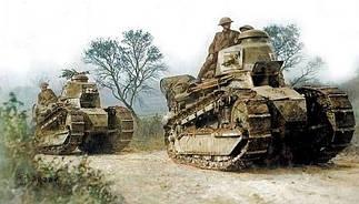 Сборные модели танков Первой мировой войны в масштабе 1/35