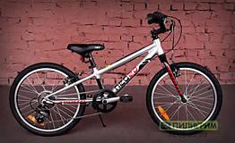 """Велосипед 20"""" Apollo Neo boys 6s черный/красный 2019"""