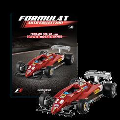 Модель коллекционная Formula 1 (Формула 1) Auto Collection (1:43) Centauri №58 Ferrari 126 C2