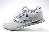 Мужские кроссовки в стиле Reebok Classic Leather, White\Белые